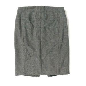 Express Design Studio gray straight pencil skirt